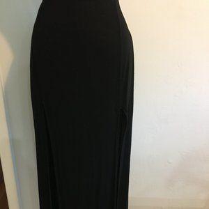 Brandy Melville Double Slit Maxi Skirt